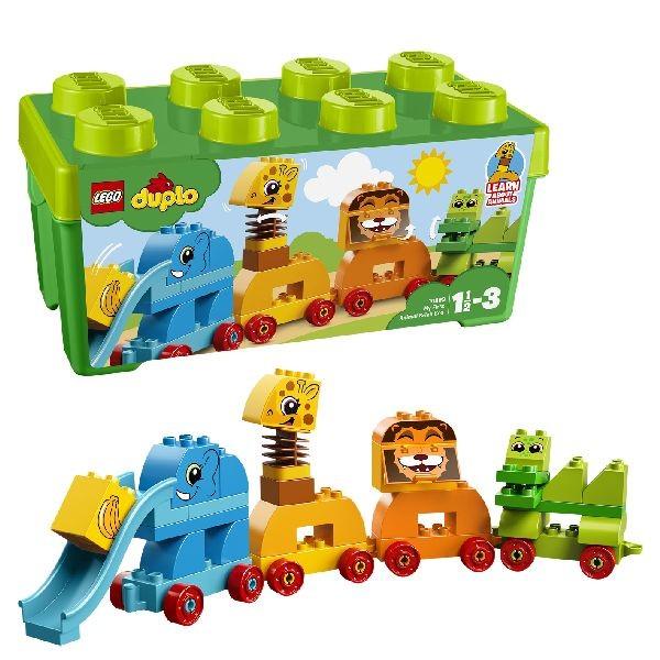 Image of LEGO DUPLO My First 10863 Mijn Eerste Dier - Opbergdoos