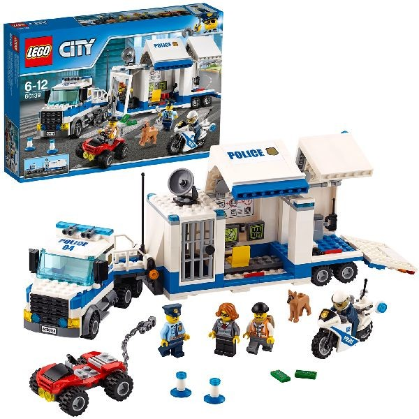 Image of LEGO City Police 60139 Mobiele commandocentrale