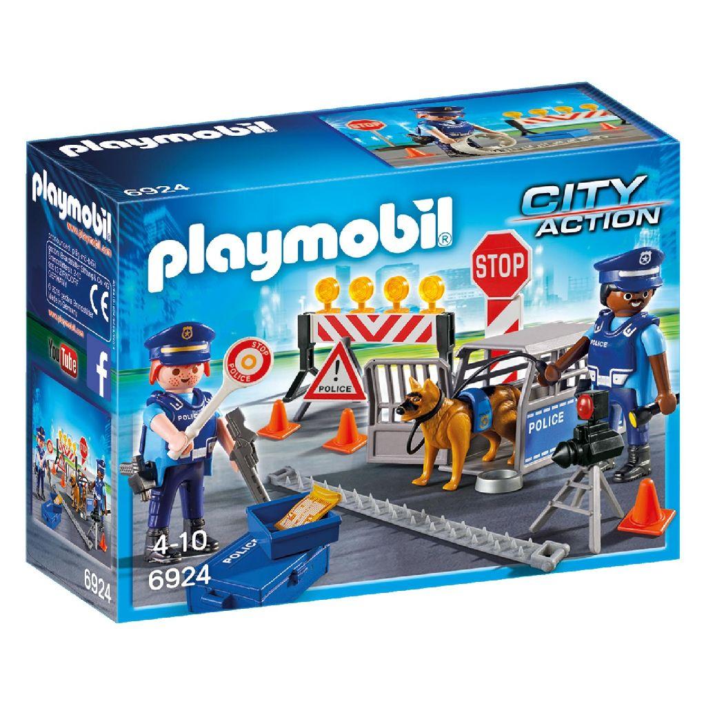 Playmobil 6924 Politie Wegversperring (4376924)