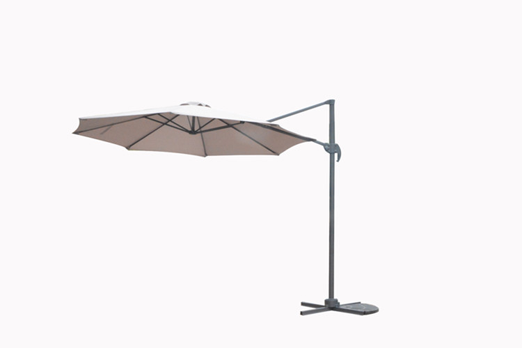 Garden Impressions - Hawaii parasol S - 300carbon zwart/ sand (05462SO)