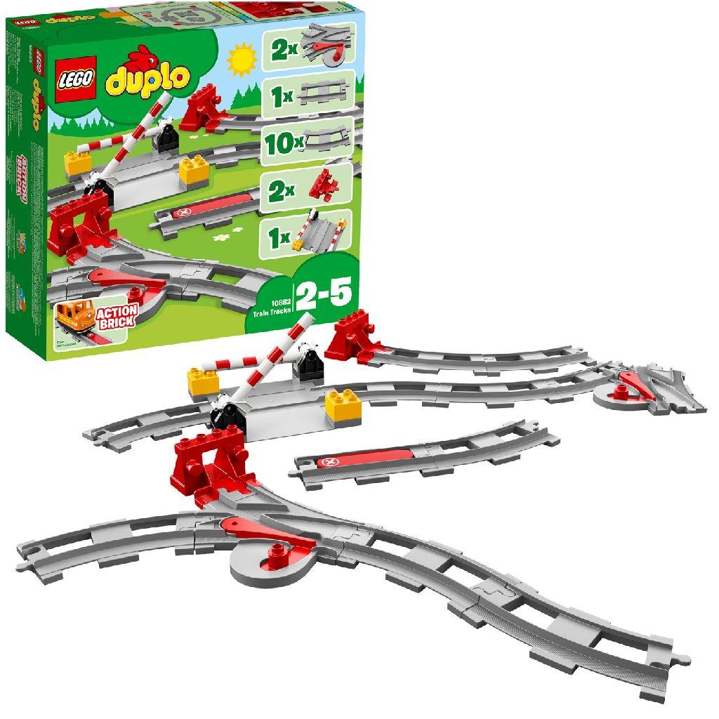 Image of LEGO DUPLO 10882 Treinrails