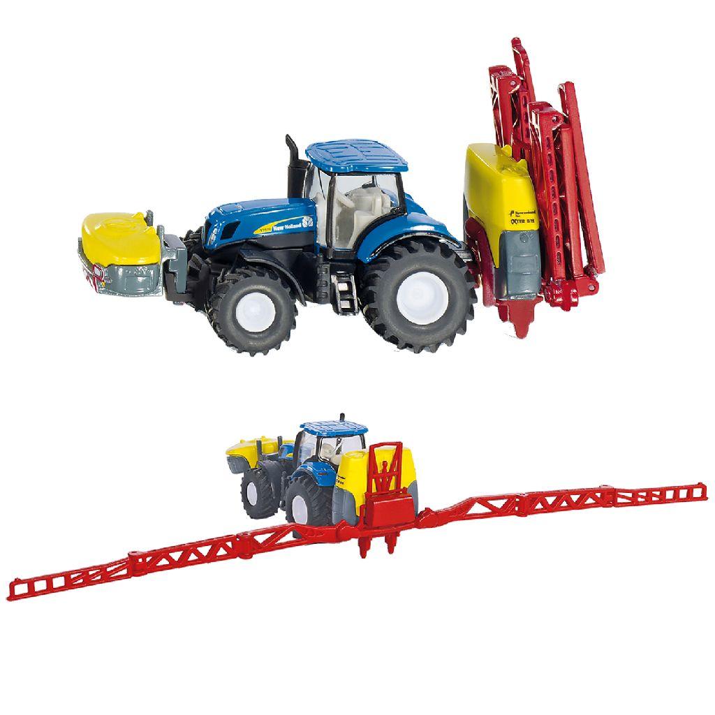 Siku Tractor New Holland + Kverneland Gewasbesproeier (3191799)