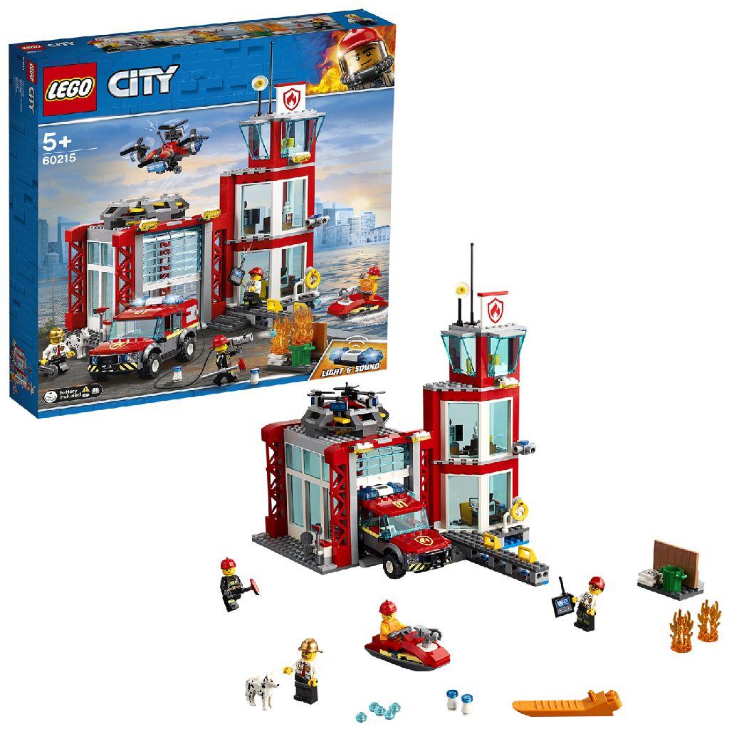 Image of LEGO City 60215 Brandweerkazerne