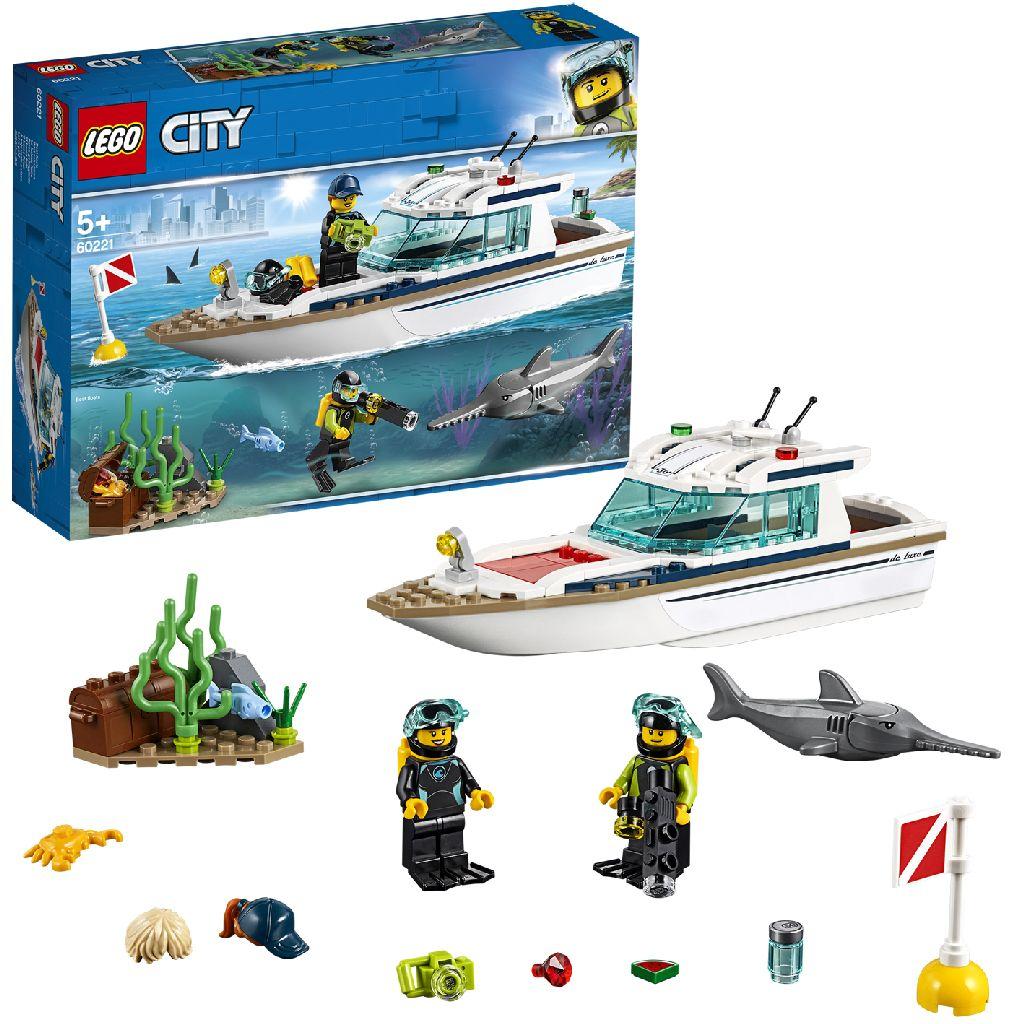 Image of LEGO City 60221 Duikjacht