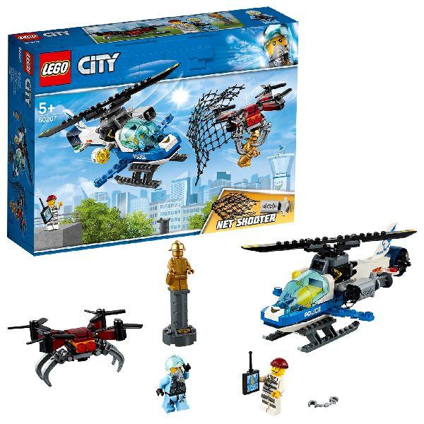 Image of LEGO City 60207 Luchtpolitie Drone-Achtervolging