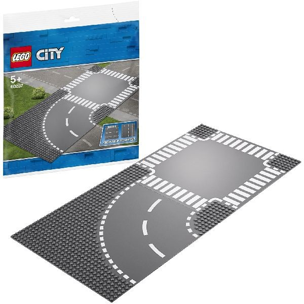 Image of LEGO City 60237 Bocht En Kruising