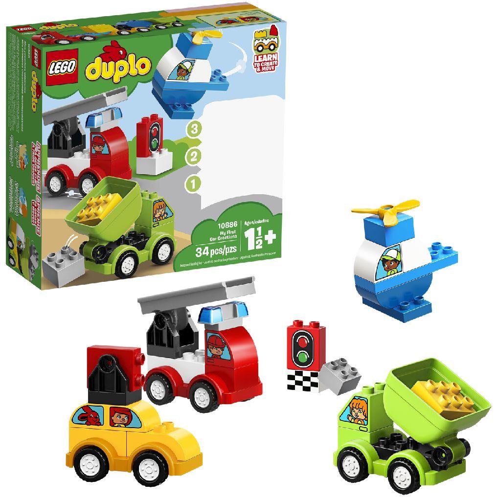 Image of LEGO DUPLO 10886 Mijn Eerste Auto Creaties