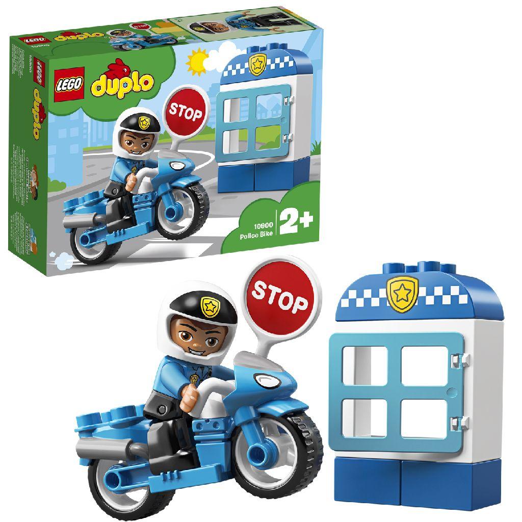 Image of LEGO DUPLO Mijn Eigen Stad 10900 Politiemotor