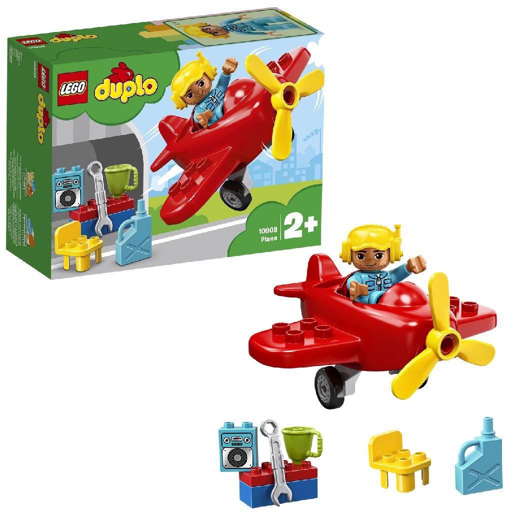 Image of LEGO DUPLO Mijn Eigen Stad 10908 Vliegtuig