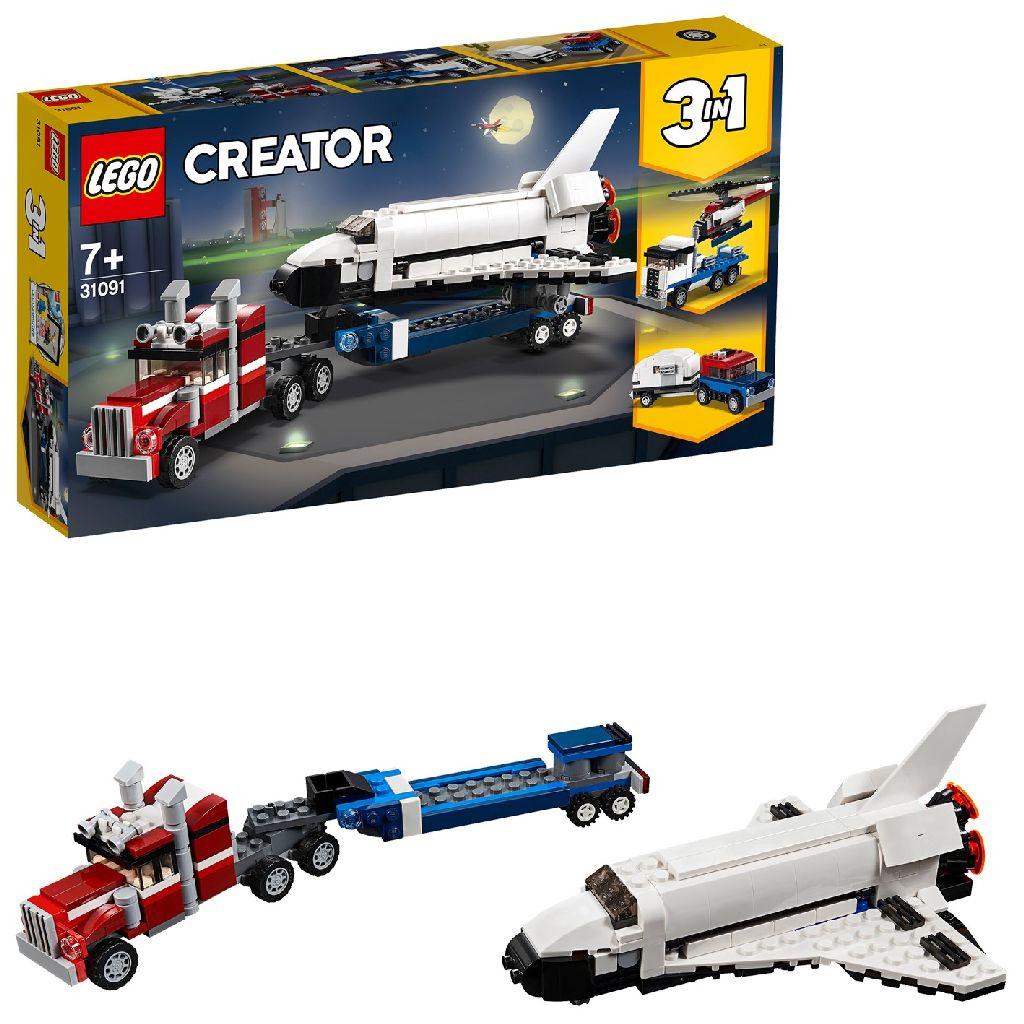 Image of LEGO Creator 31091 Spaceshuttle Transport