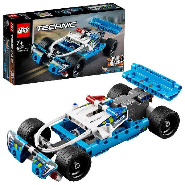 Image of LEGO Technic 42091 Politie Achtervolging