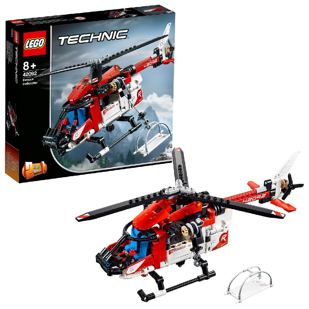 Image of LEGO Technic 42092 Reddingshelikopter