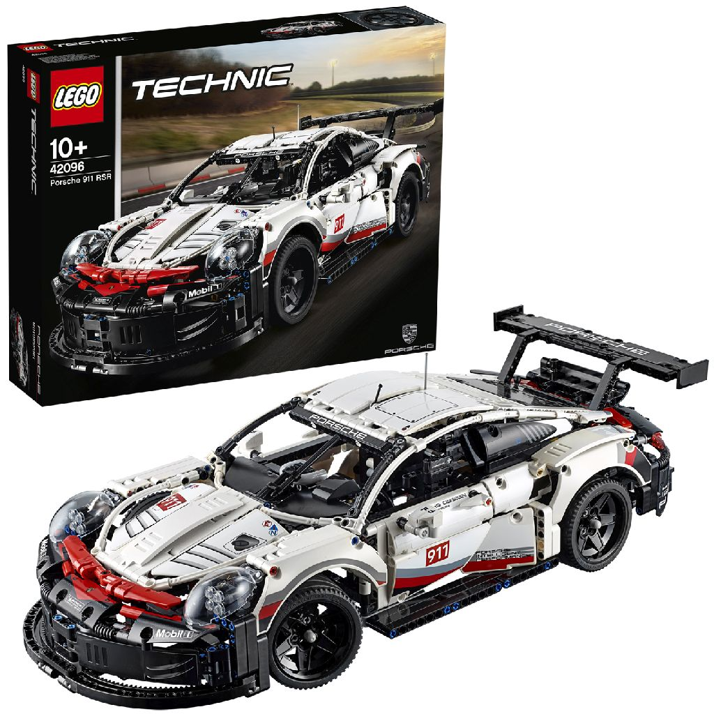Image of LEGO Technic 42096 Porsche 911 RSR