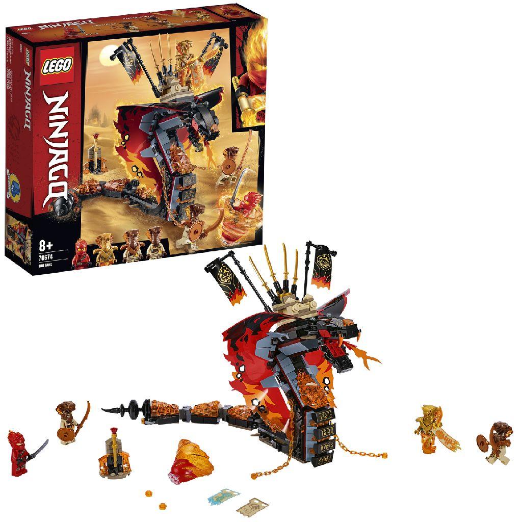 LEGO Ninjago 70674 Vuurtand (4110674)