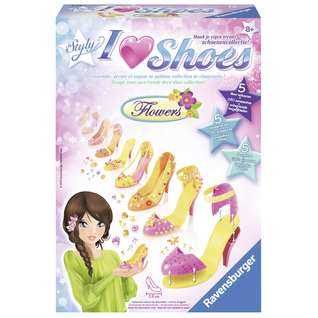 Image of Hobbyset So Styly I Love Shoes: Flowers