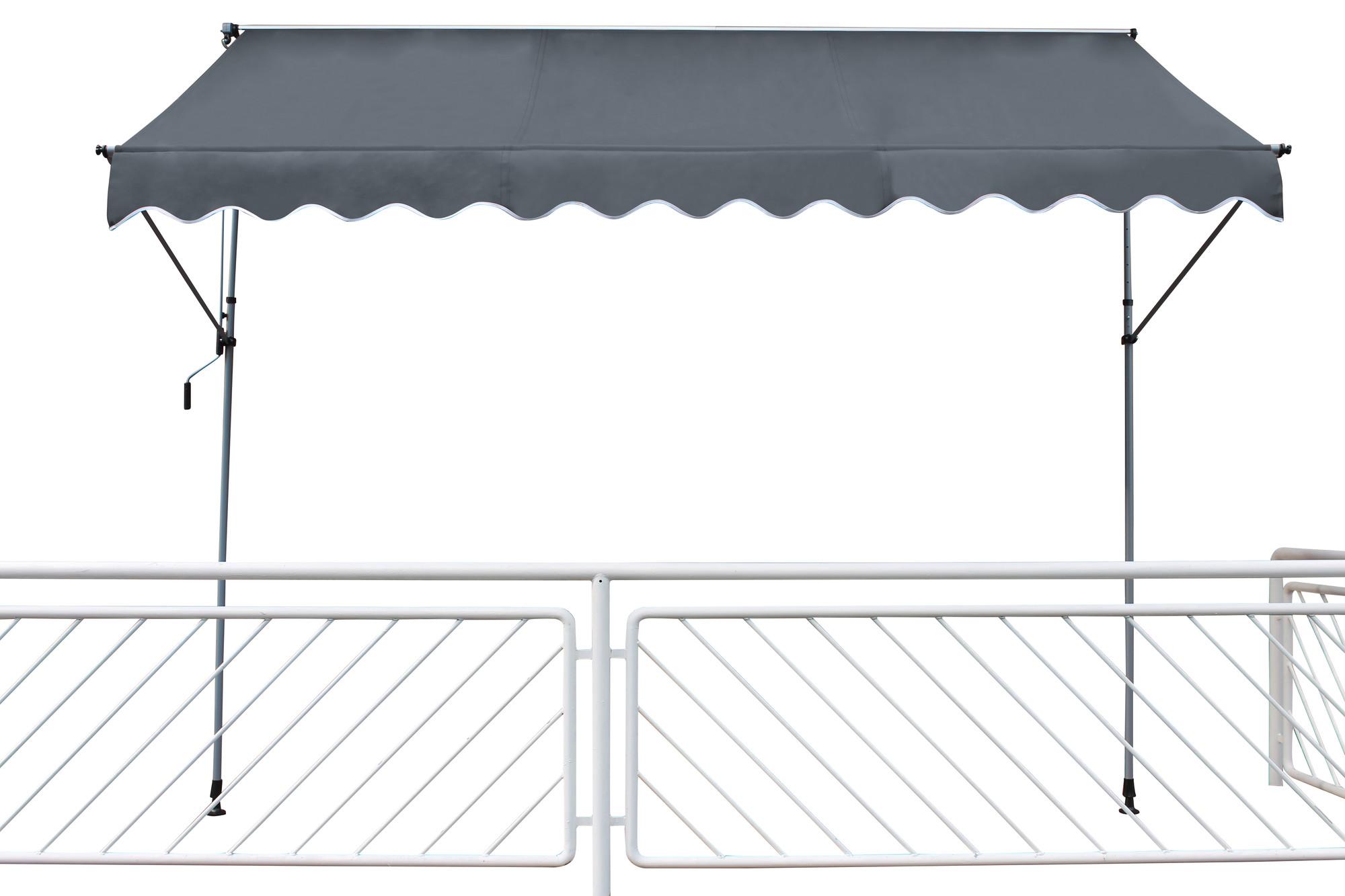 Van Wohi Leco klemluifel 300x120 cm antraciet (24202 114) Prijsvergelijk nu!