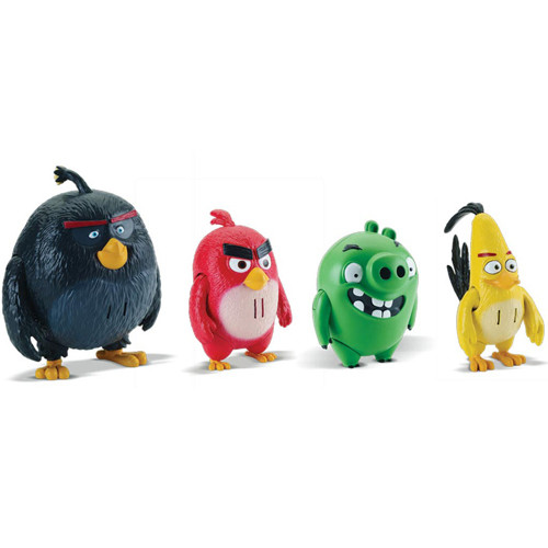 Image of Angry Birds Deluxe Action Figures