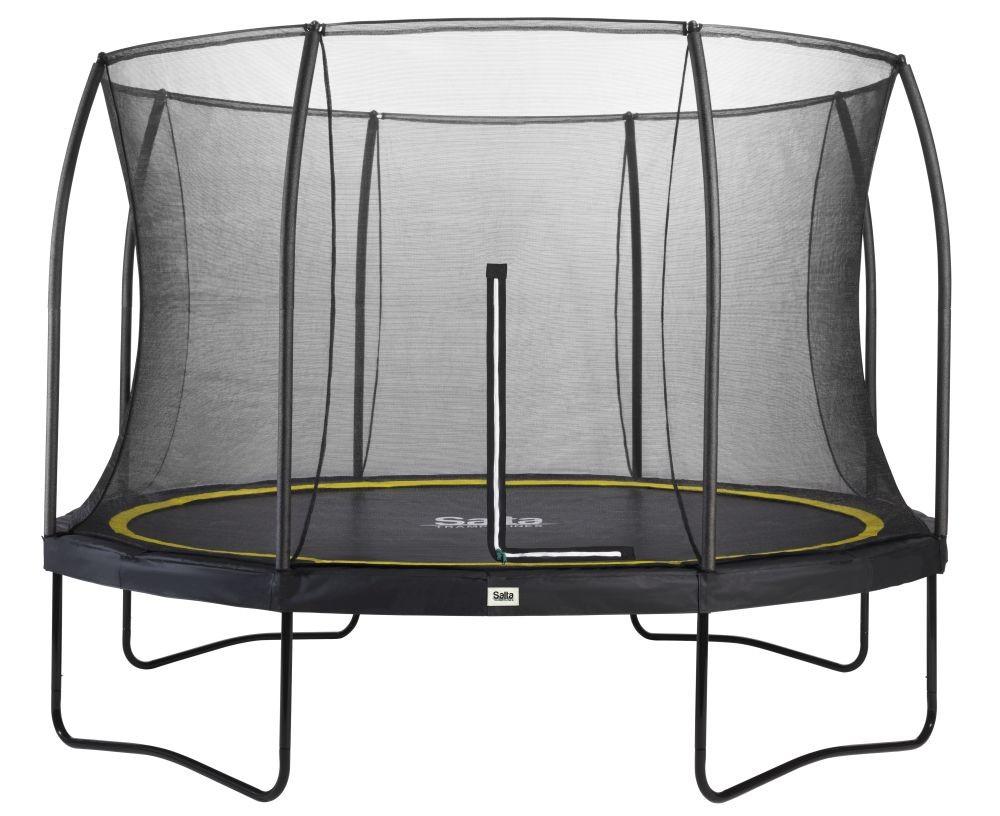 Salta Comfort trampoline met rand rond 396 cm zwart