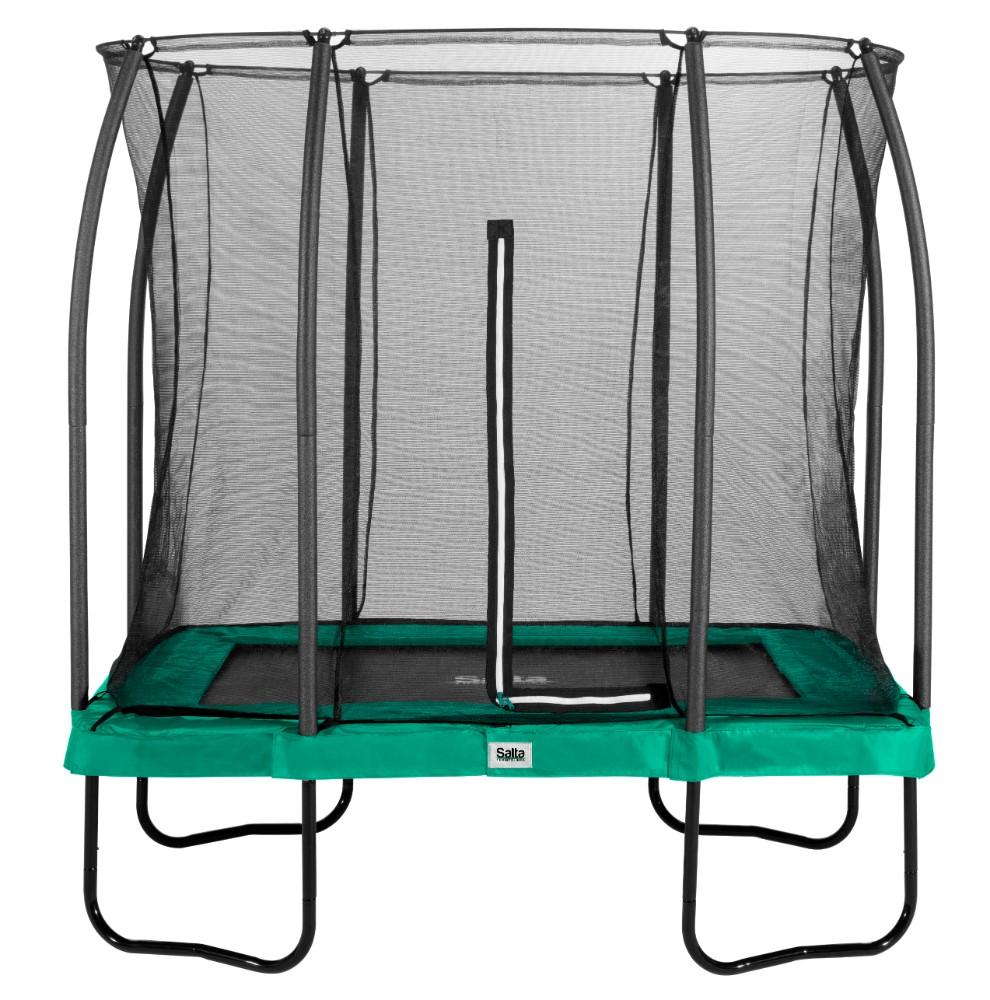 Salta trampoline rechthoekig Comfort Edition 153x214cm Groen