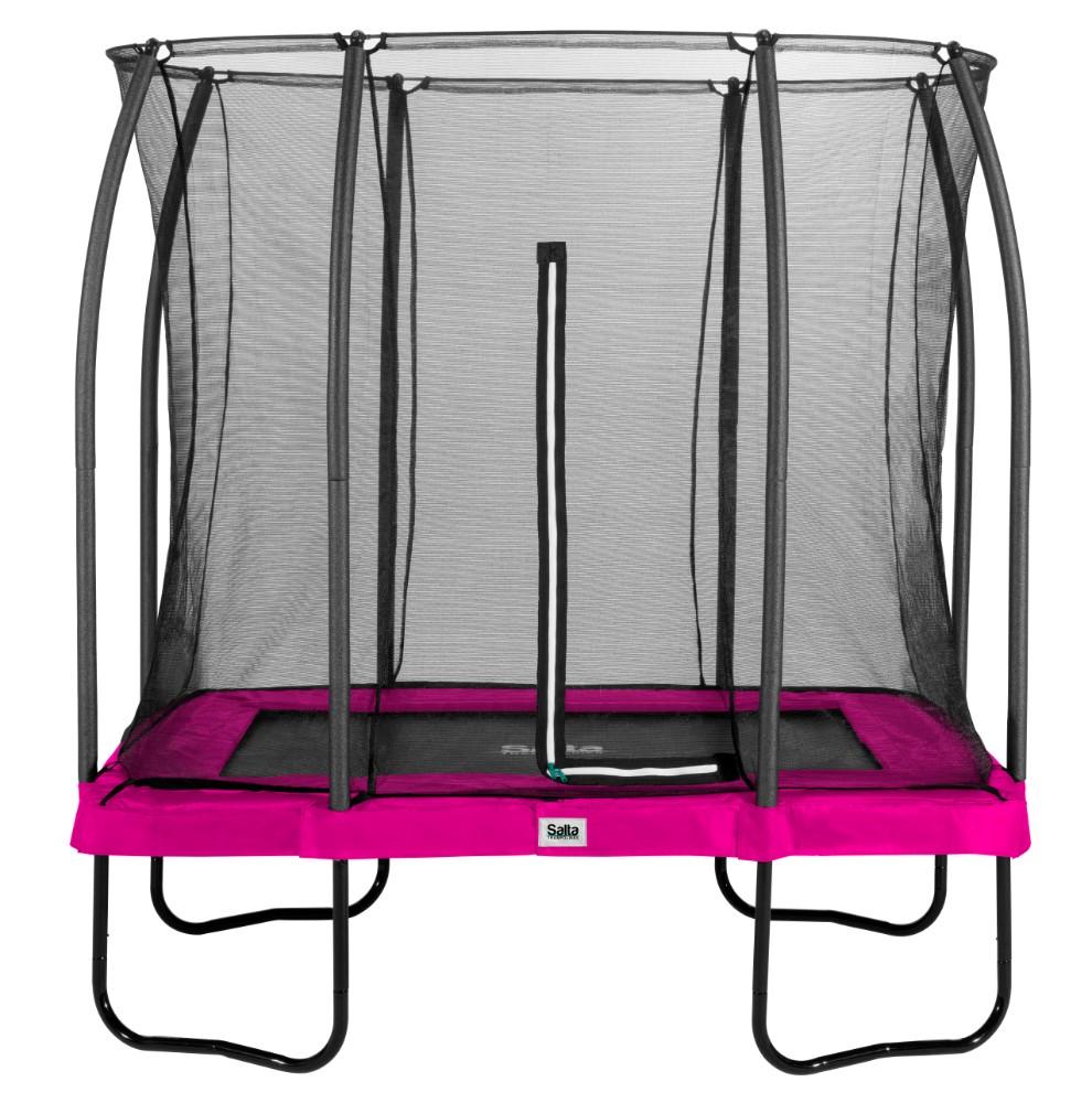 Salta trampoline rechthoekig Comfort Edition 153x214cm Roze