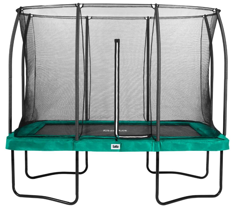 Salta trampoline rechthoekig Comfort Edition 214x305cm Groen