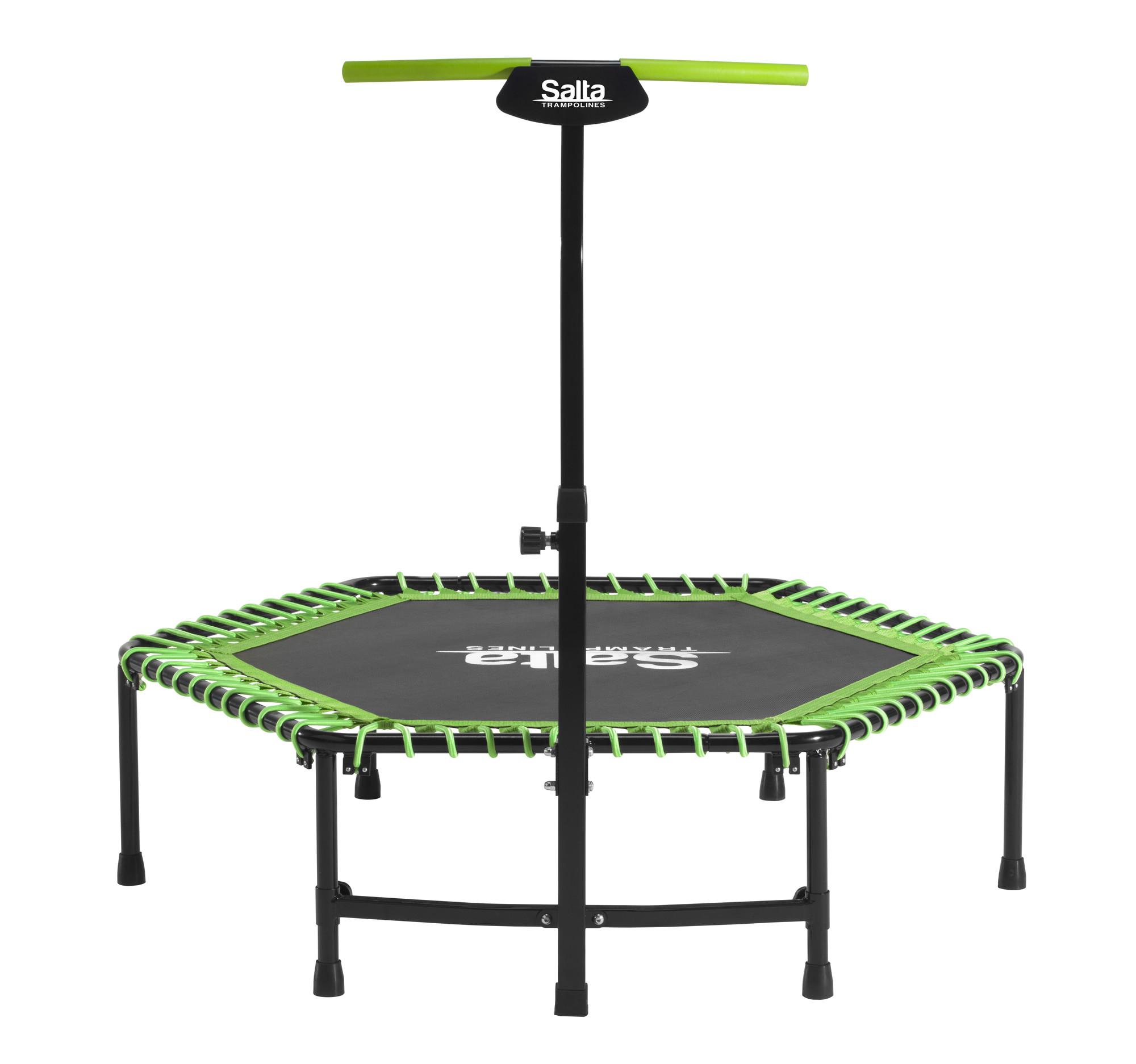Van Wohi Salta Fitness trampoline including handle bar - 140cm (5357G) Prijsvergelijk nu!
