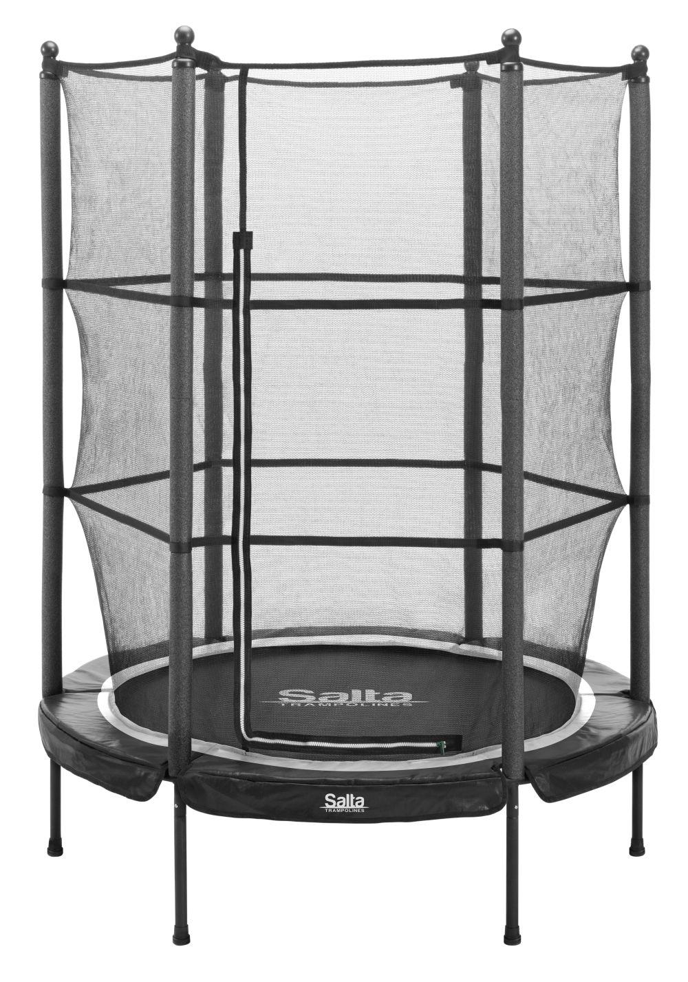 Van Wohi Salta Junior Trampoline - 140cm - Zwart (539A) Prijsvergelijk nu!