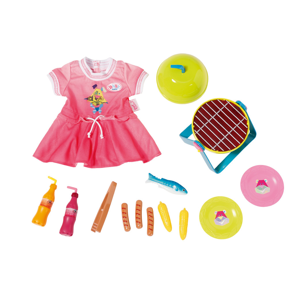 Image of Baby Born Play & Fun Barbecue Set