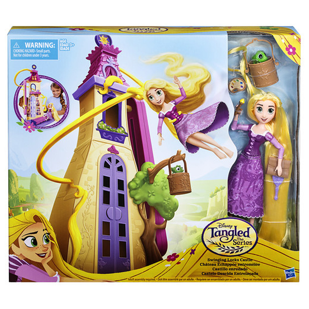 Disney Princess Tangled Zwaaiende Lokken Kasteel (5711753)