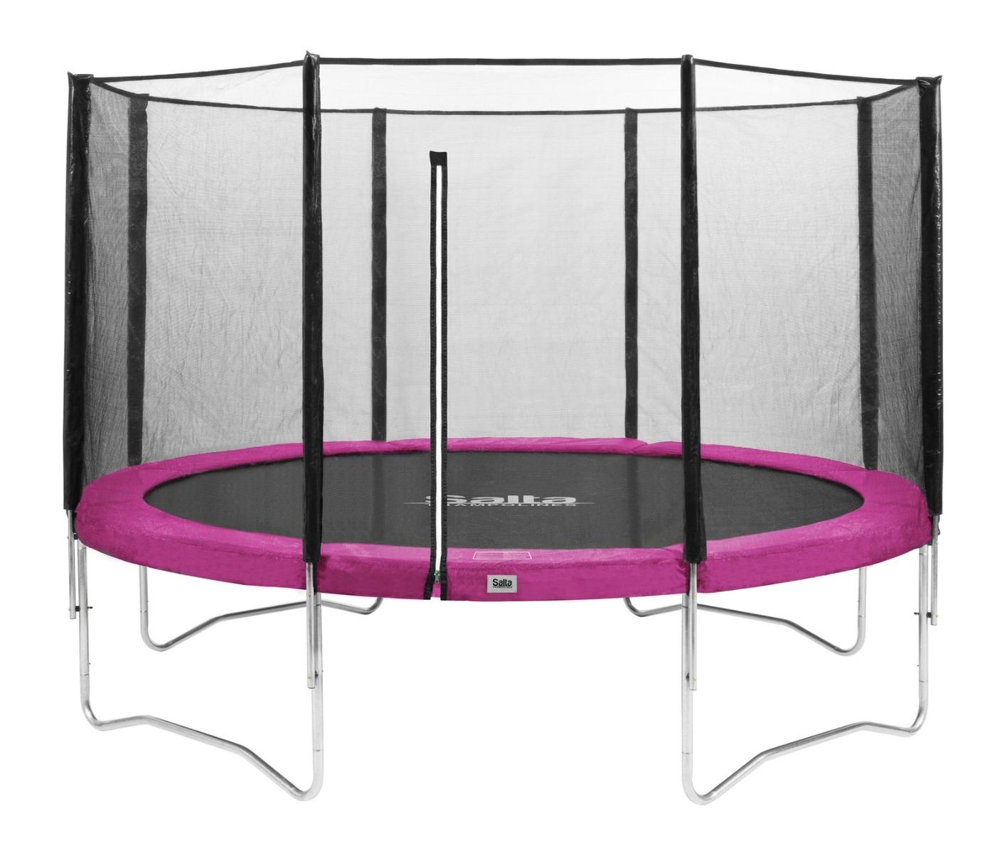Van Wohi Salta trampoline met net 366 cm Roze (585P) Prijsvergelijk nu!