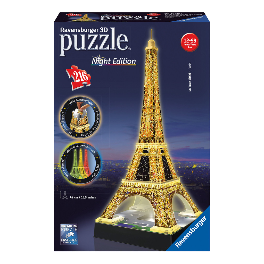 Image of 3D Puzzel Eiffeltoren Night Edition