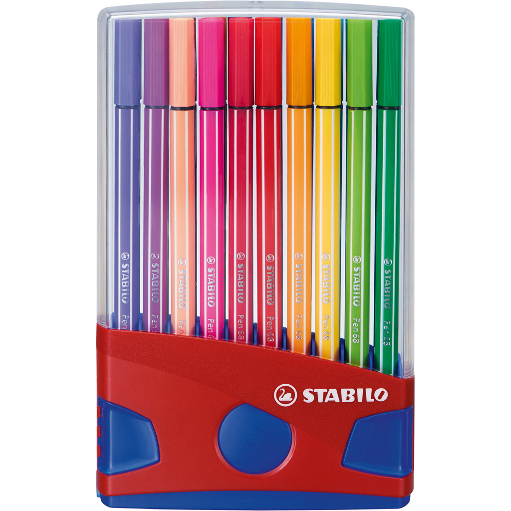 Viltstiften Stabilo Pen 68 20 Stuks (6506820)