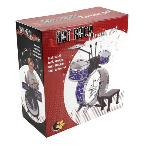 Drumstel Met Stoel Hot Rock 68x51x27 Cm
