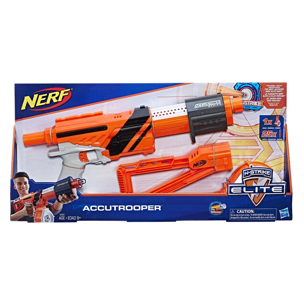 Van Wohi Nerf Accustrike Trooper Blaster (7212283) Prijsvergelijk nu!