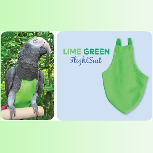 Flightsuit papegaaienluier Large Groen