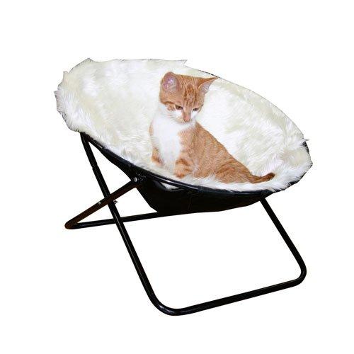 Kattenligstoel Sharon wit