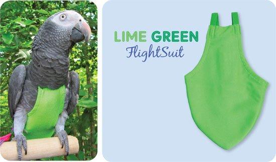 Afbeelding Flightsuit papegaaienluier X-Wide Long Groen door Wohi.nl
