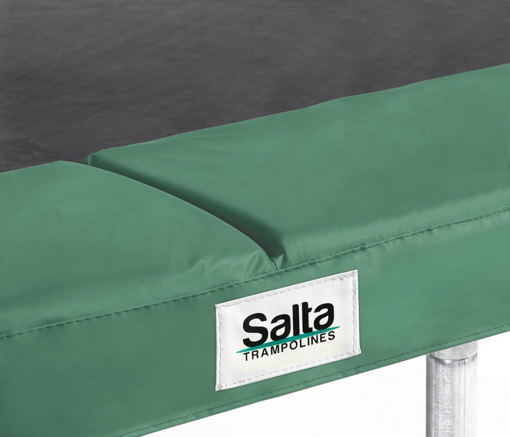 Image of Salta trampoline rand rechthoekig - Groen - 153 cm x 214 cm