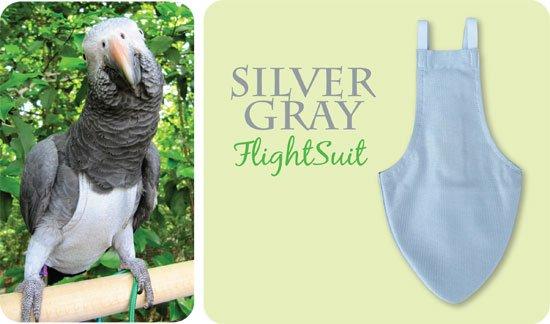 Image of Flightsuit papegaaienluier X-Wide Grijs