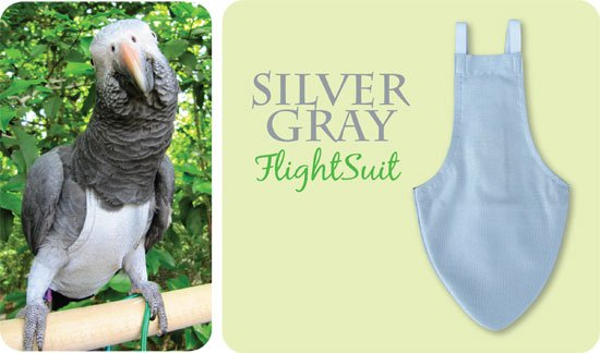 Flightsuit papegaaienluier X-Large Groen