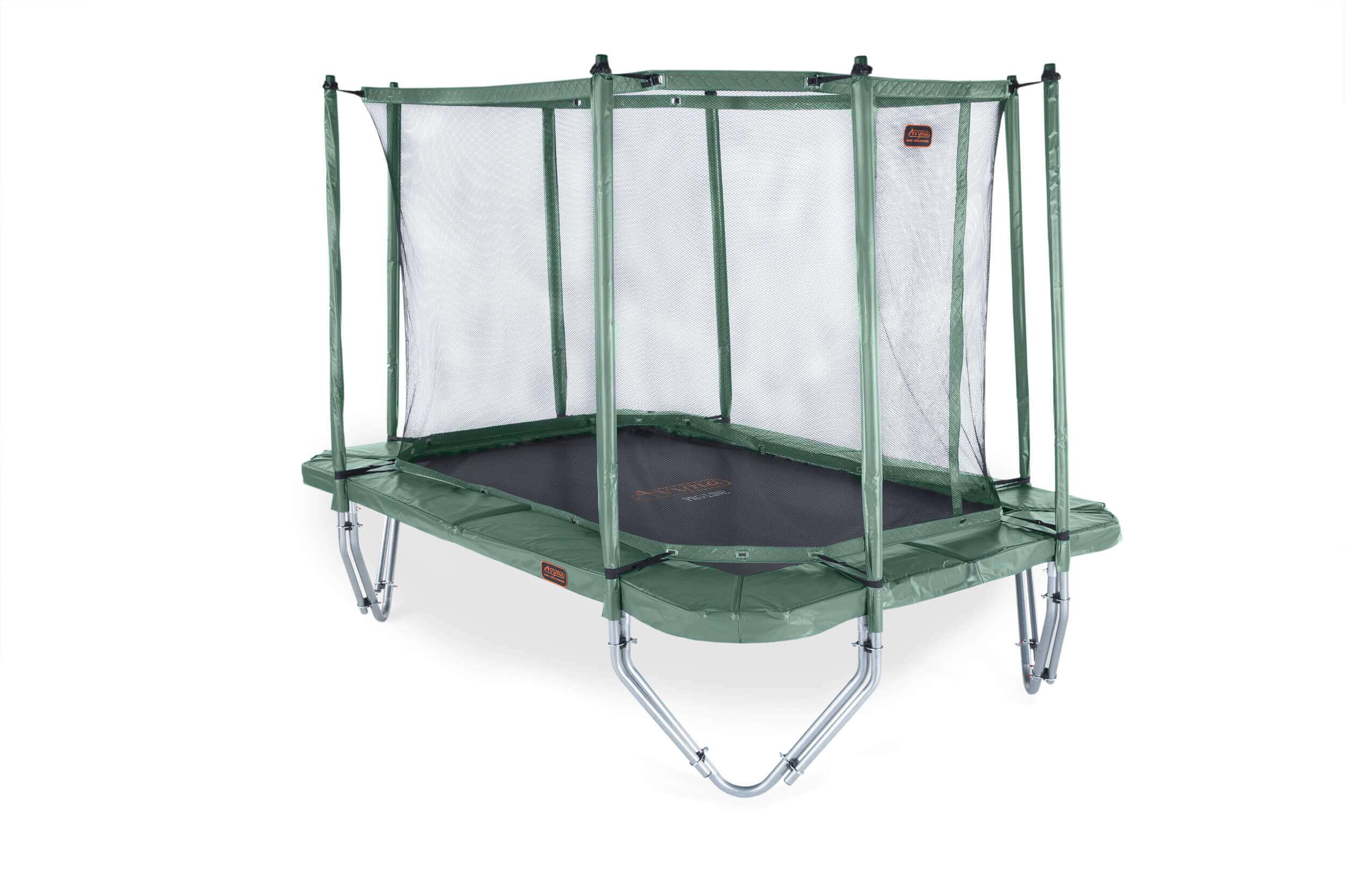 Image of Avyna PRO-LINE 234 340x240 cm, net boven, ladder, Groen