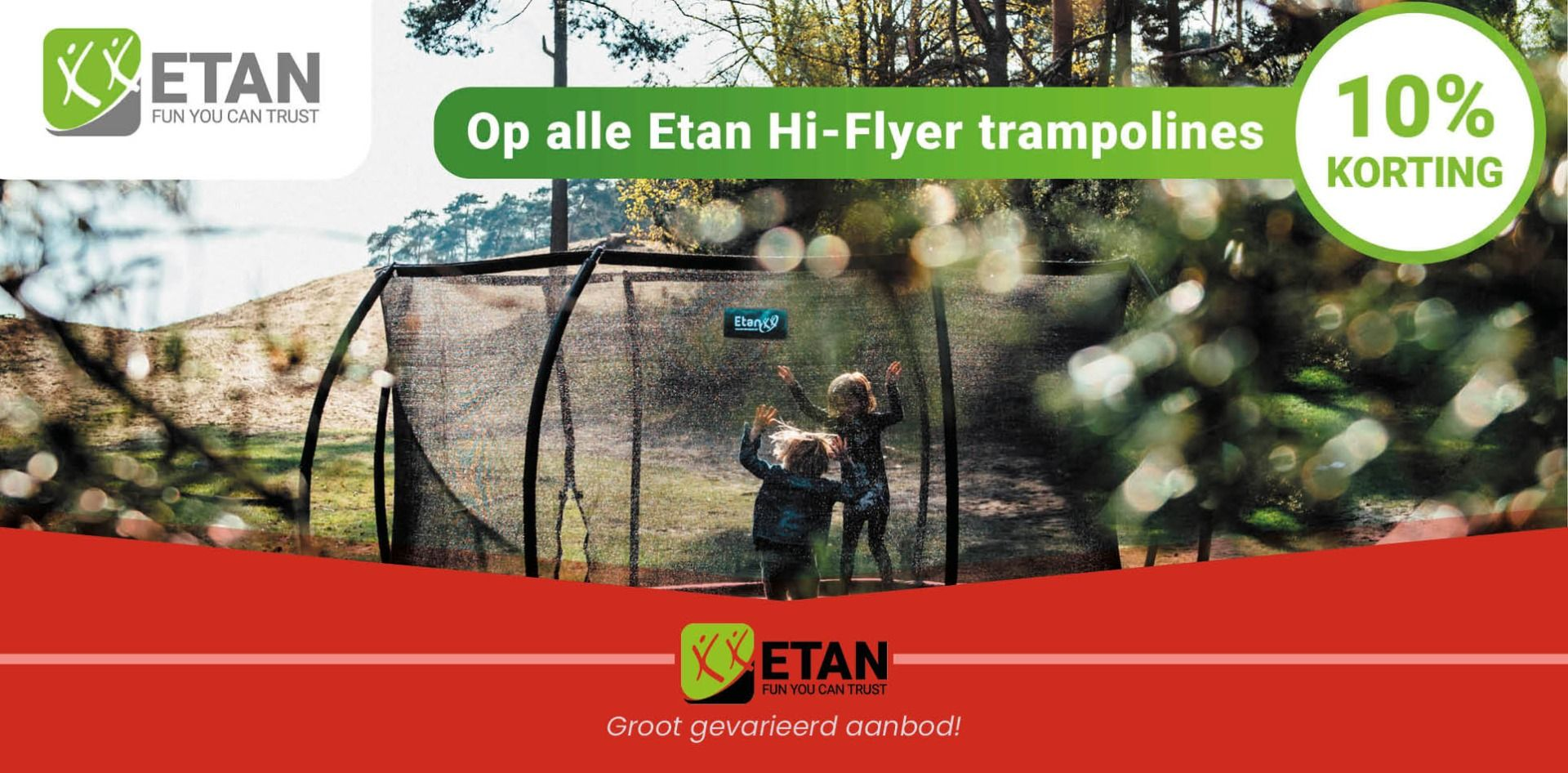 Trampolines | WOHI.nl
